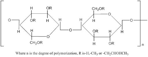 فرمول خرید هیدروکسی پروپیل متیل سلولز (HPMC)