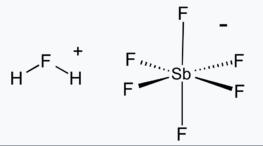 کاربرد فلوئوروآنتیمونیک اسید