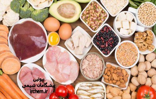 ماده غذایی غنی از بیوتین