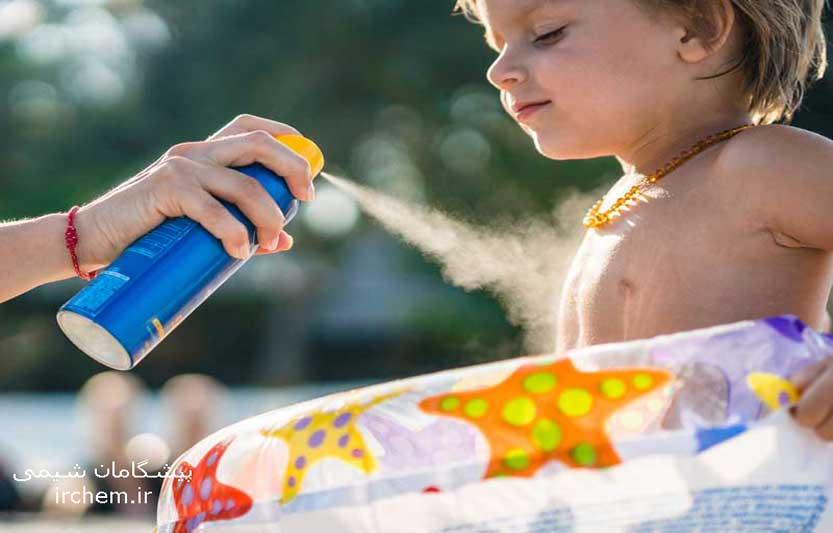 ضد آفتابهای اسپری