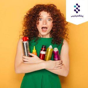 محصولات حالت دهنده مو