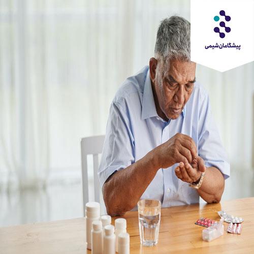 تصویر ویتامین ها و مواد معدنی برای افراد مسن