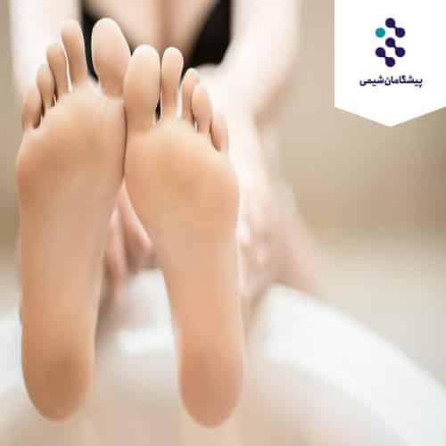 فرمولاسیون محصولات مراقبت از پا