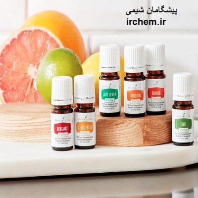 Authorized edible essential oils