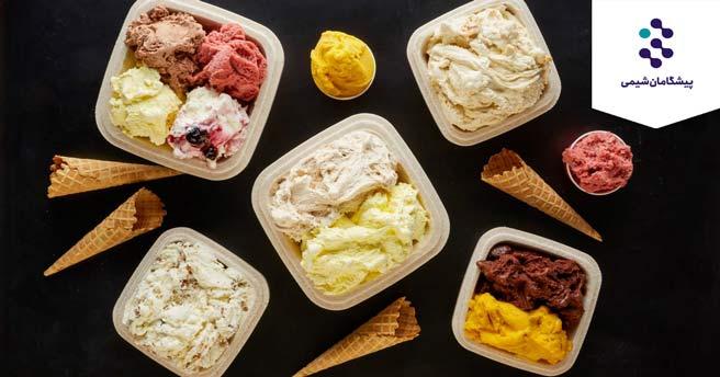 قند در بستنی