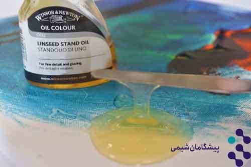 کاربرد تربانتین در رنگ روغن
