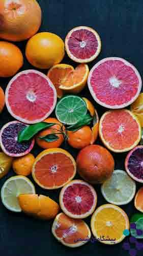 Edible fruit essential oil