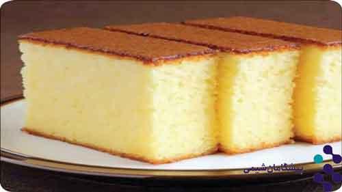 وانیل برای کیک